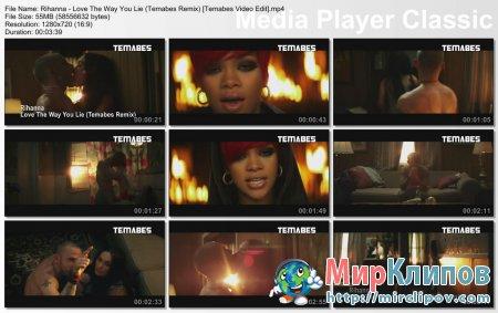 Rihanna - Love The Way You Lie (Temabes Remix)