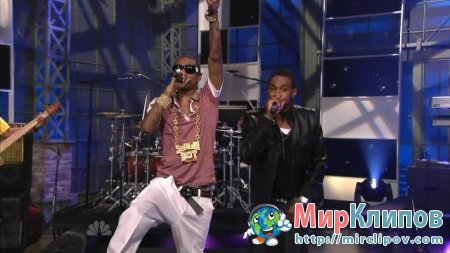 Soulja Boy Feat. Sammie - Kiss Me Thru The Phone (Live, Tonight Show With Jay Leno)