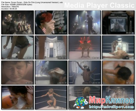 Duran Duran - Girls On Film (Long Uncensored Version)