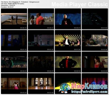 DVJ Elisgaizer Feat. Timbaland - Dangerous