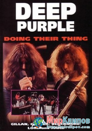Deep Purple - Doing Their Thing (Live, Concert, 1970)