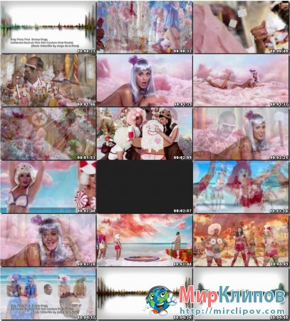Katy Perry Feat. Snoop Dogg - California Gurls (C Rok Rok Couture Club Remix & Jorge De La Rosa Video Mix)