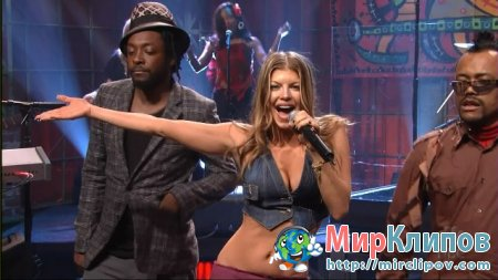 Sergio Mendes Feat. Black Eyed Peas - Mas Que Nada (Live, Tonight Show With Jay Leno)