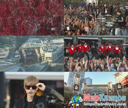 Justin Bieber - Live Perfomance (MTV VMA, 2010)