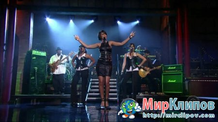 Rihanna - Shut Up And Drive (Live, Late Show With David Letterman)