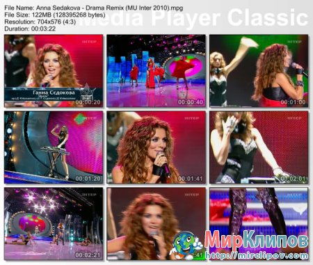 Анна Седакова - Драма (Remix) (Live, Мисс Украина, 2010)