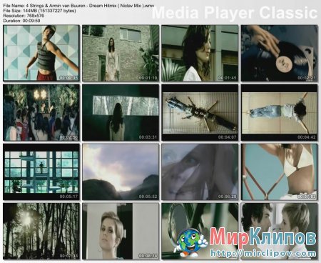 4 Strings Feat. Armin Van Buuren - Dream Hitmix (Niclav Mix)
