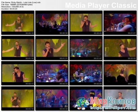Ricky Martin - Lola Lola (Live)