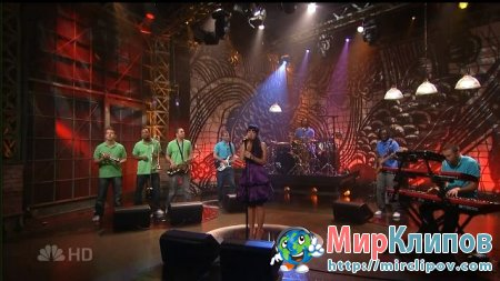 Lily Allen - Smile (Live, Tonight Show With Jay Leno)