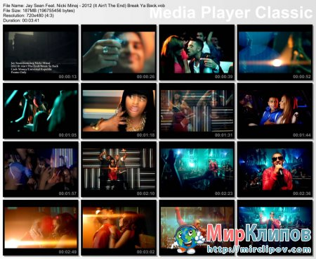Jay Sean Feat. Nicki Minaj - 2012 (It Ain't The End)/Break Ya Back