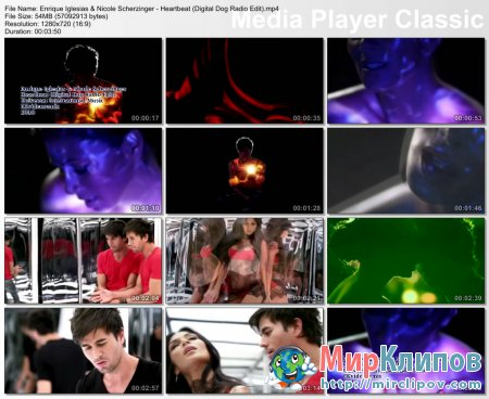 Enrique Iglesias Feat. Nicole Scherzinger - Heartbeat (Digital Dog Radio Edit)