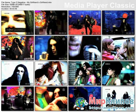 Type O Negative - My Girlfriend's Girlfriend