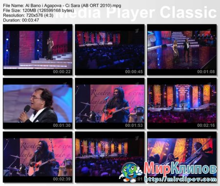 Al Bano и Вероника Агапова - Ci Sara (Al Bano и Его Леди, Live, 2010)