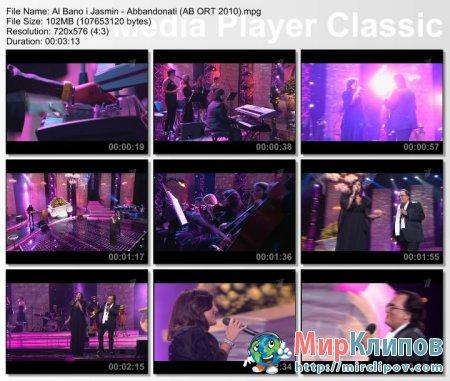 Al Bano и Жасмин - Abbandonati (Al Bano и Его Леди, Live, 2010)