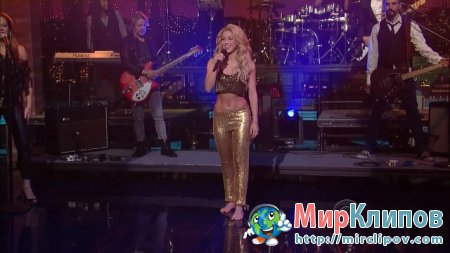 Shakira - Loca (Live, Late Show With David Letterman)