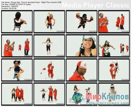 Chingy Feat. Trina & Jermaine Dupri - Right Thurr (Remix)