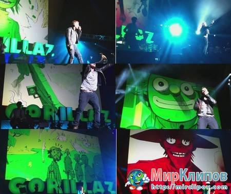 Gorillaz — Rhinestone Eyes (Live, 2010)