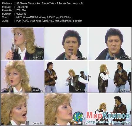 Shakin Stevens Feat. Bonnie Tyler - A Rockin Good Way