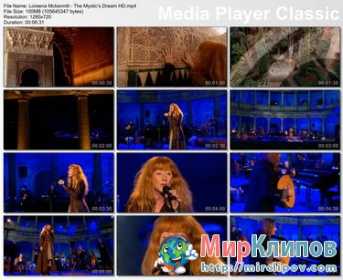 Loreena Mckennitt - The Mystic's Dream (Live)