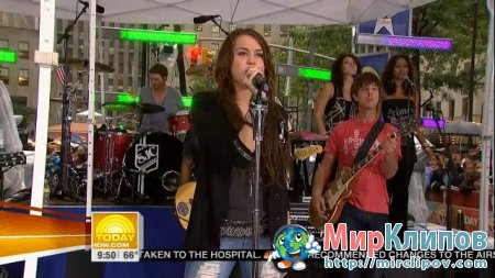 Miley Cyrus - Kicking And Screaming (Live, Today Show)