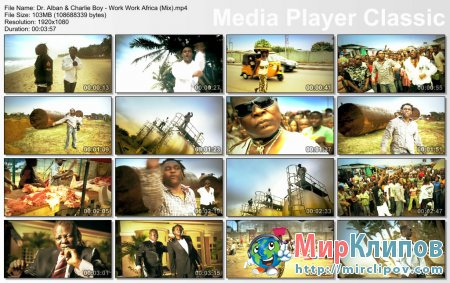 Dr. Alban Feat. Charlie Boy - Work Work Africa (Mix)