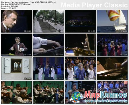 Paul Mauriat - Concert (Live, Wild Spring, 1983)