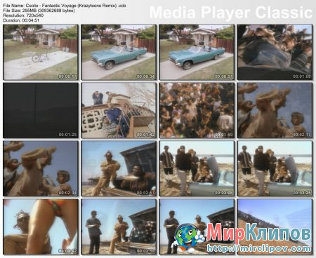 Coolio - Fantastic Voyage (Krazytoons Remix)
