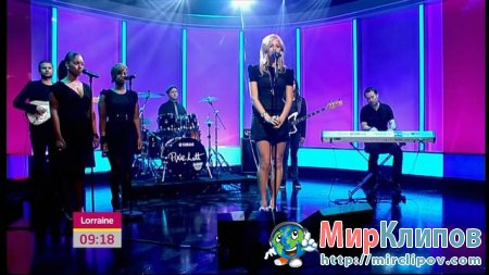 Pixie Lott - Broken Arrow (Live, Lorraine)