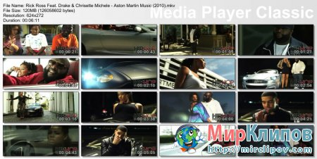 Rick Ross Feat. Drake & Chrisette Michele - Aston Martin Music