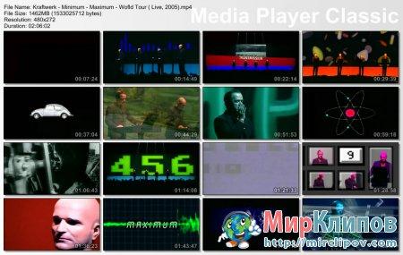 Kraftwerk - Minimum-Maximum (World Tour, 2005)