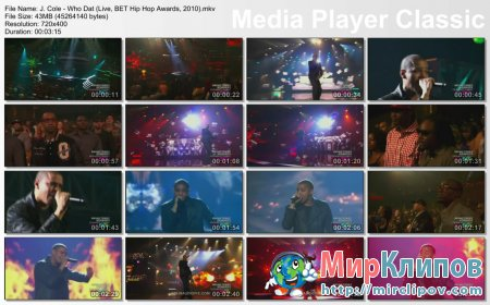 J. Cole - Who Dat (Live, BET Hip Hop Awards, 2010)