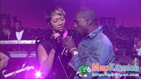 Keri Hilson Feat. Kanye West - Knock You Down (Live, Late Show With David Letterman)