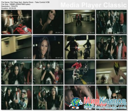 Roll Deep Feat. Alesha Dixon - Take Control