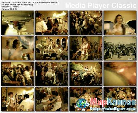 Thalia - Amor A La Mexicana (Emillo Banda Remix)