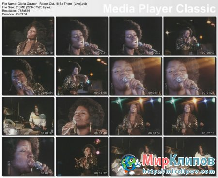 Gloria Gaynor - Reach Out, I'll Be There (Live)