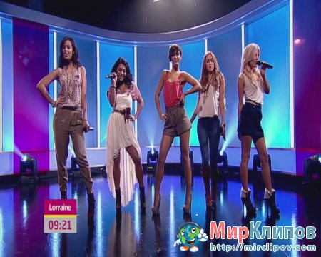 The Saturdays - Higher (Live, Lorraine, 28.10.10)
