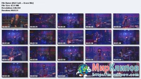 Kid Cudi - Erase Me (Live)