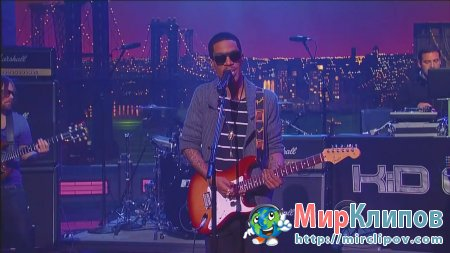 Kid Cudi - Erase Me (Live, Late Show With David Letterman, 2010)