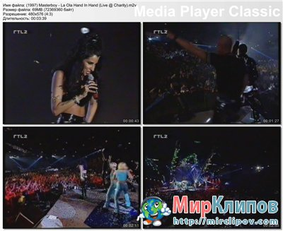 Masterboy - La Ola Hand In Hand (Live, Charity)