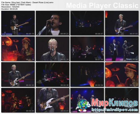 Sting Feat. Cheb Mami - Desert Rose (Live)