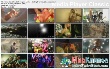 David Guetta Feat. Fergie & Lmfao – Getting Over You (Uncensored)