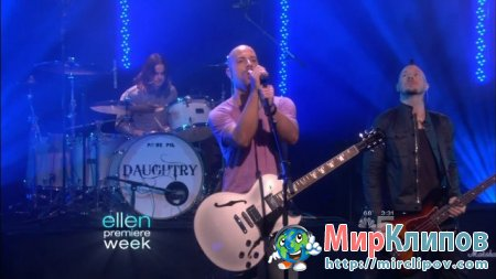 Daughtry - September (Live, The Ellen DeGeneres Show)