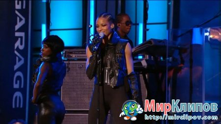 Ciara - Never Ever (Live, Jimmy Kimmel Show, 2009)