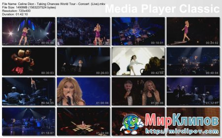 Celine Dion - Taking Chances World Tour (Concert)