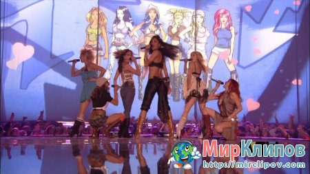 Pussycat Dolls - Don't Cha (Live, MTV EMA, 2005)
