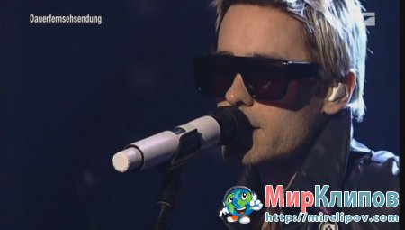 30 Seconds To Mars - Closer To The Edge (Live, TvTotal 09.11.2010)