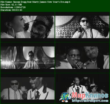 Snoop Dogg Feat. Marty James - New Year's Eve