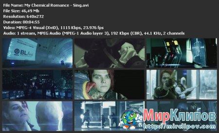 My Chemical Romance - Sing