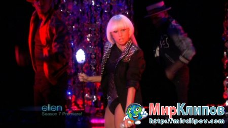 Lady Gaga - Love Game (Live, The Ellen DeGeneres Show)