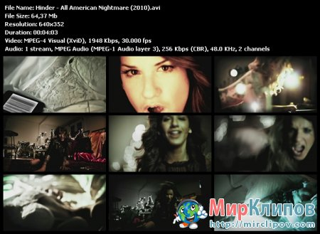 Hinder - All American Nightmare